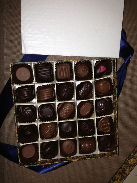 Life *IS* just like a box of chocolates!